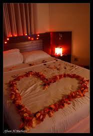 ليالي رومانسيه باضواء الشموع